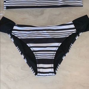 Cupshe Swim - CUPSHE Striped Swimsuit NWT